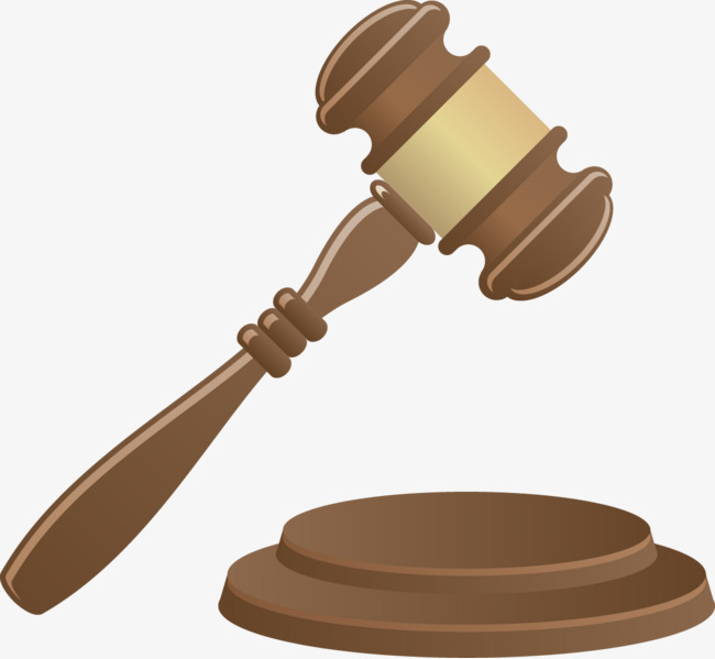 Vector Painted Gavel, Vector, Hand Painted, Gavel Png And Vector - Gavel, Transparent background PNG HD thumbnail