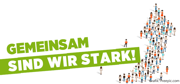 Banner Gemeinsam Stark   Gbw - Gemeinsam Sind Wir Stark, Transparent background PNG HD thumbnail