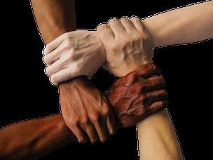 Hände Gemeinsam Sind Wir Stark.png - Gemeinsam Sind Wir Stark, Transparent background PNG HD thumbnail