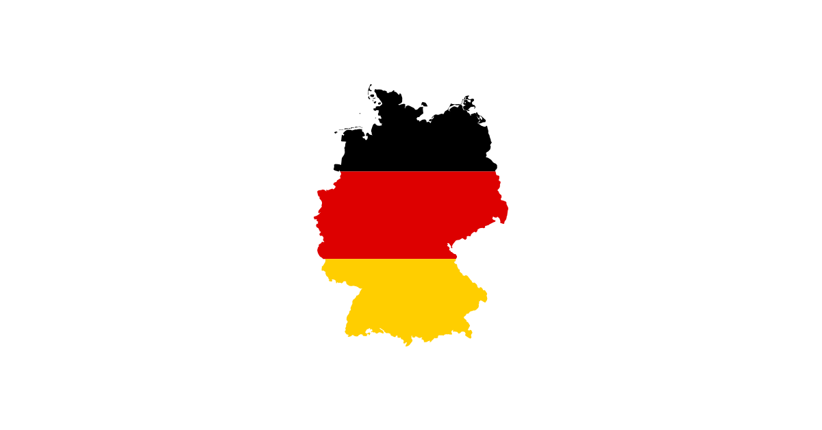 Germany Flag Map Vector File Free Download Transparent Png Graphic Cave - Germany, Transparent background PNG HD thumbnail