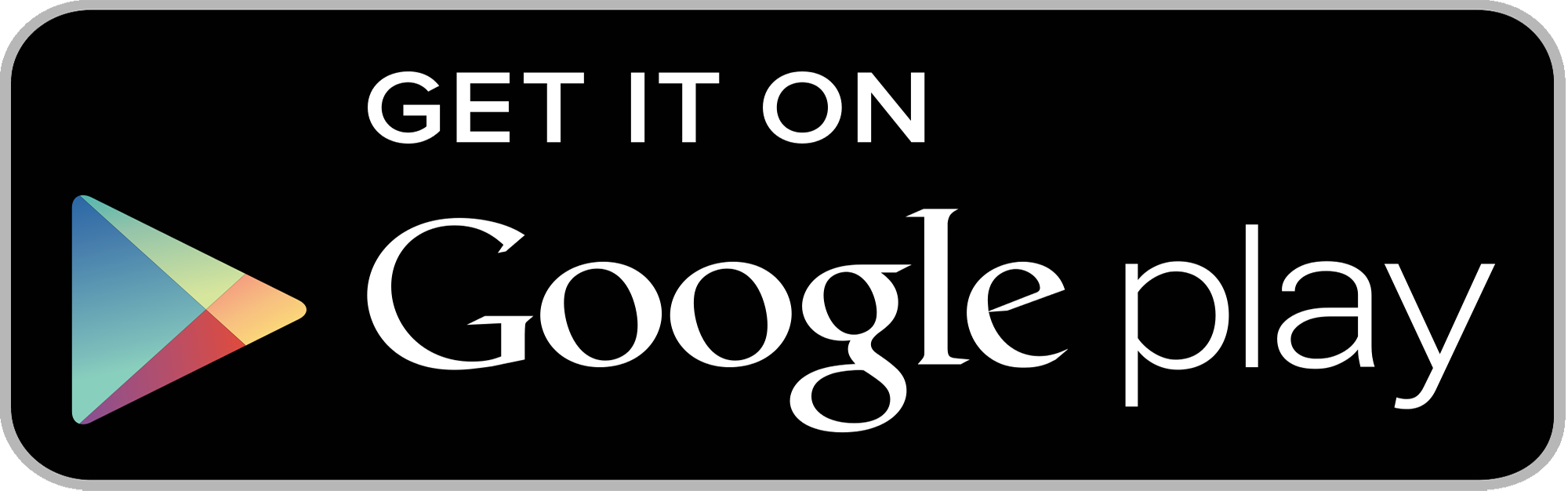 Get It On Google Play Badge Png - Google Play Badge Hdpng.com , Transparent background PNG HD thumbnail