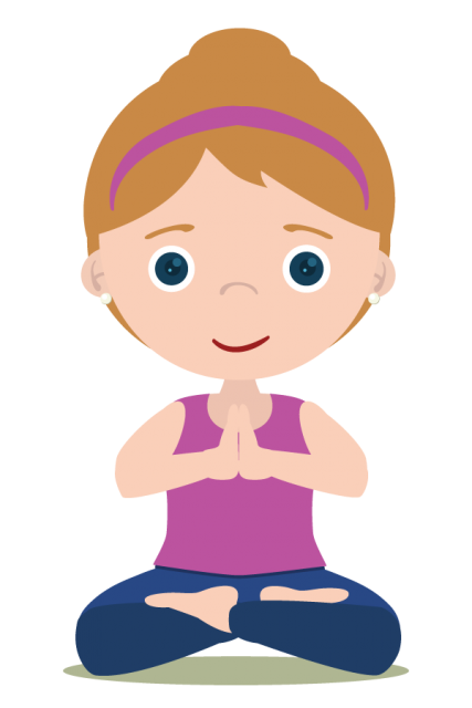 Girl Meditation   Png 24   600X900 - Meditation, Transparent background PNG HD thumbnail