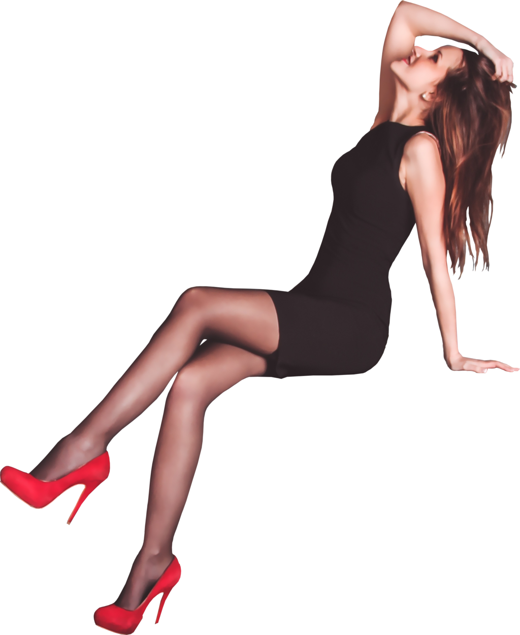 Woman girl PNG image