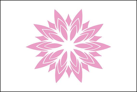 Girly Mandala PNG