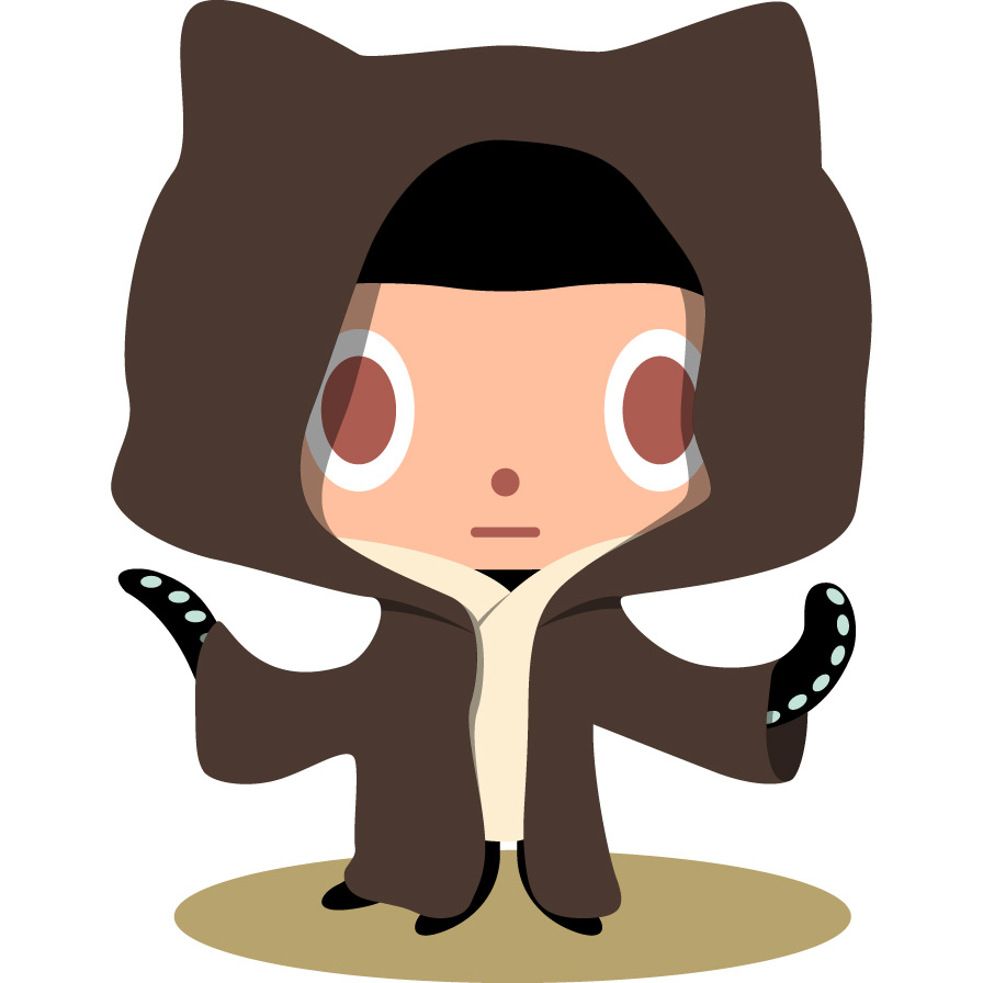 And Github Master Could Be This: - Github Octocat, Transparent background PNG HD thumbnail