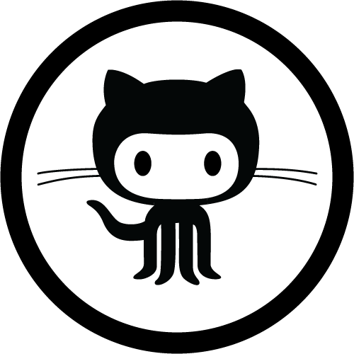 Check Me Out On Github! - Github Octocat, Transparent background PNG HD thumbnail