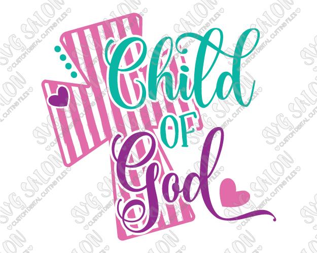 Child Of God Svg Cut File Set - God And Children, Transparent background PNG HD thumbnail