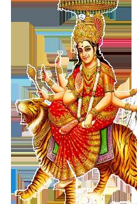 Goddess Durga Maa Png Clipart