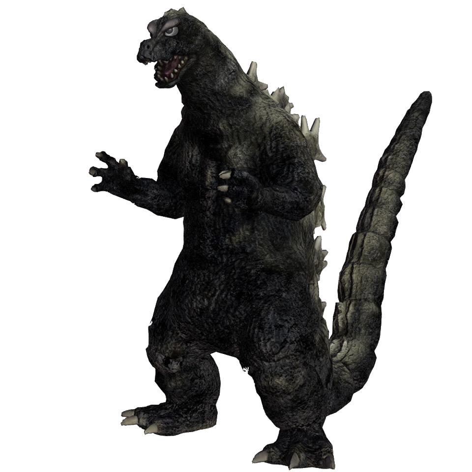 Godzilla 1964 (Ps4).png - Godzilla, Transparent background PNG HD thumbnail