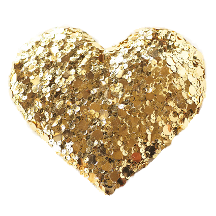 Diy Gold Sequin Heart 6_Clipped_Rev_1   Atlanta Wedding Photographer   Fine Art Film Photography   Elle Golden Photography - Gold Glitter Heart, Transparent background PNG HD thumbnail