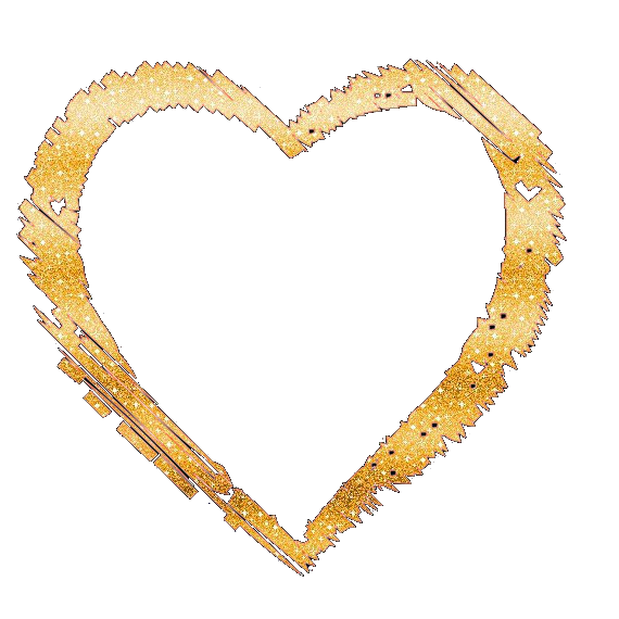 Glitter Heart Png. By Nayeliforever Hdpng.com  - Gold Glitter Heart, Transparent background PNG HD thumbnail