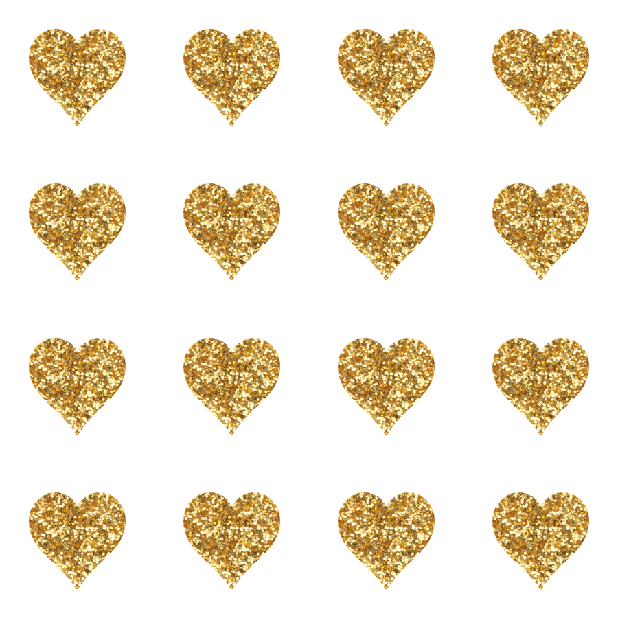 Gold Glitter Hearts Baby Fabric Wallpaper   Willowlanetextiles   Spoonflower - Gold Glitter Heart, Transparent background PNG HD thumbnail