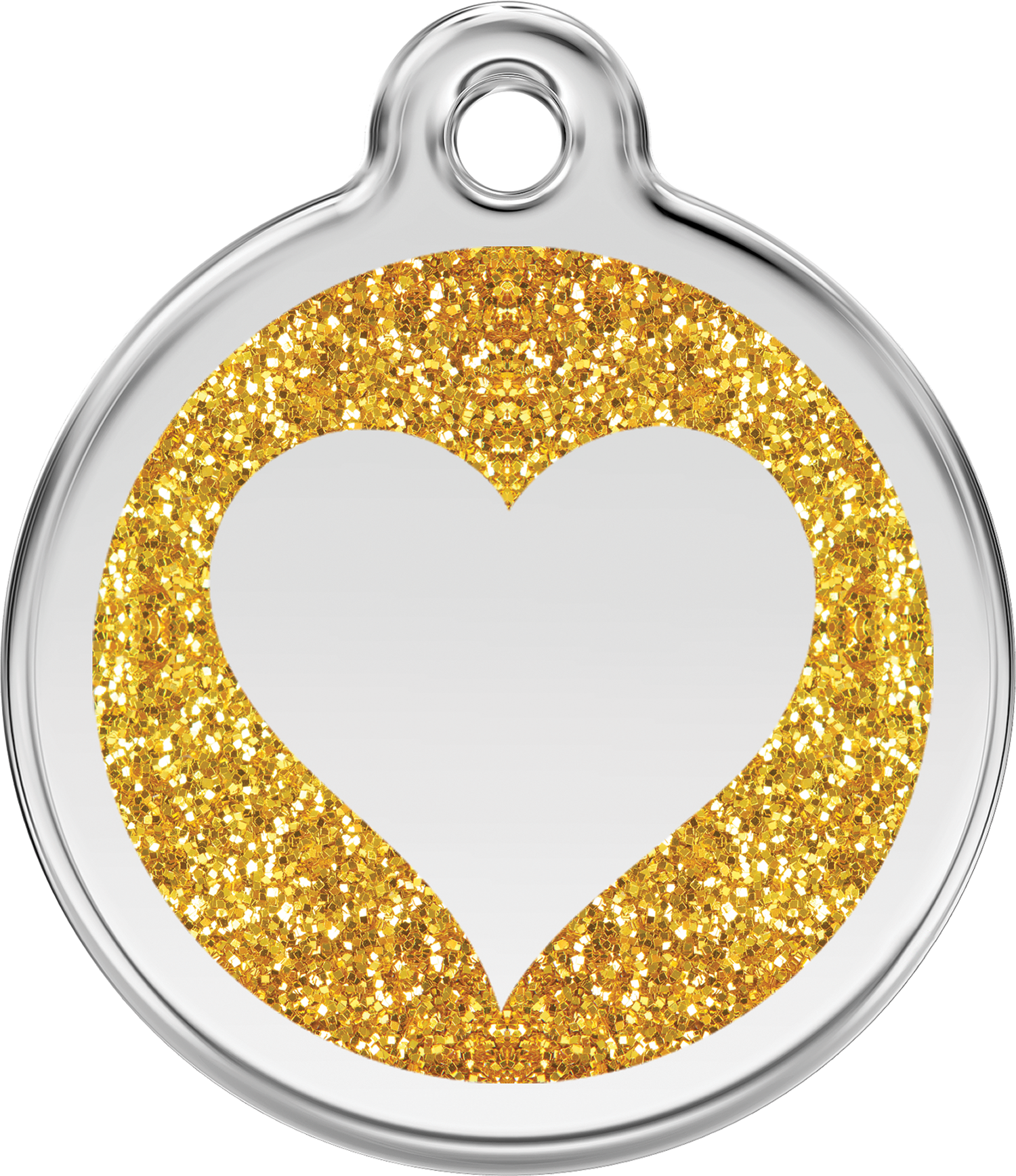 . Hdpng.com Image - Gold Glitter Heart, Transparent background PNG HD thumbnail
