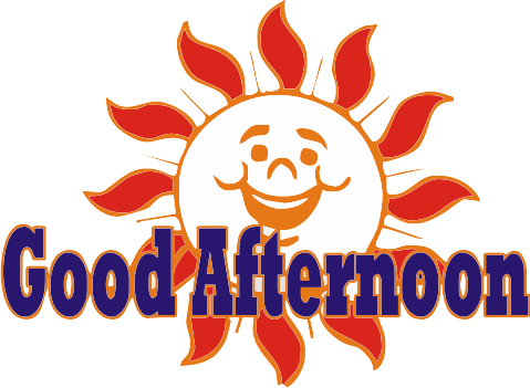 Good Afternoon Logo - Good Afternoon, Transparent background PNG HD thumbnail