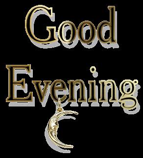 Good Evening PNG
