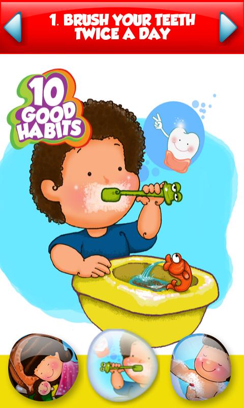 Good Habits For Kids Png Hdpng.com 480 - Good Habits For Kids, Transparent background PNG HD thumbnail