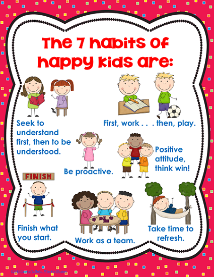 Good Habits For Kids Clipart - Good Habits For Kids, Transparent background PNG HD thumbnail