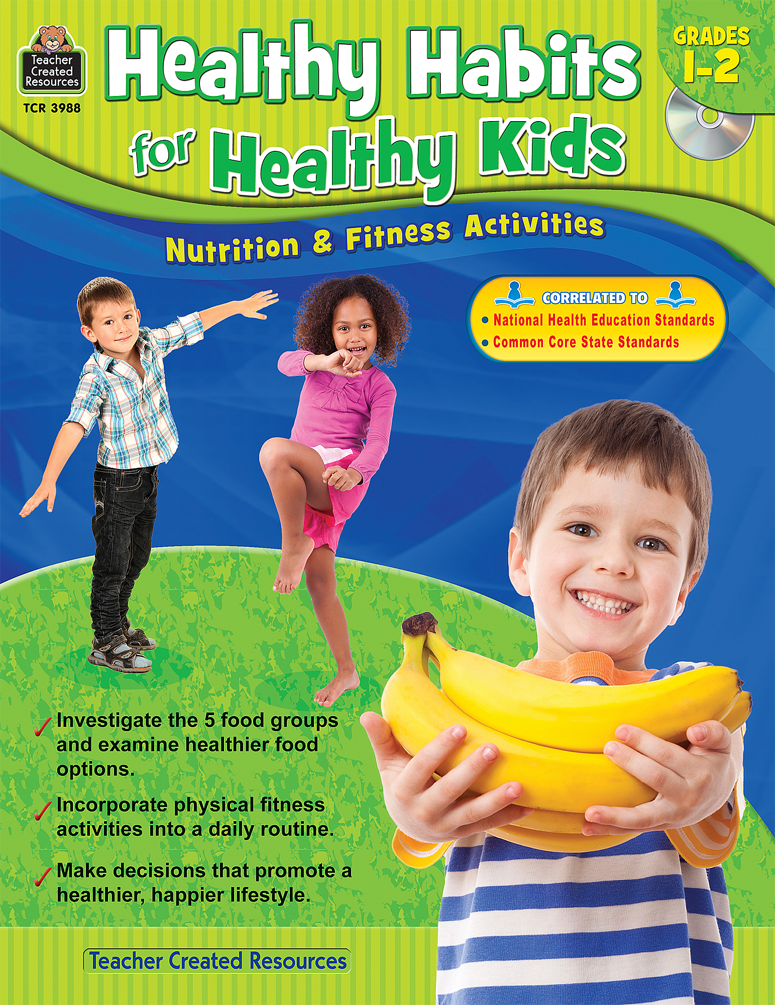 Healthy Habits For Healthy Kids Grade 1 2   Tcr3988   Teacher Created Resources - Good Habits For Kids, Transparent background PNG HD thumbnail