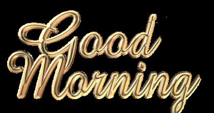 Good Morning Transparent Png - Good Morning, Transparent background PNG HD thumbnail