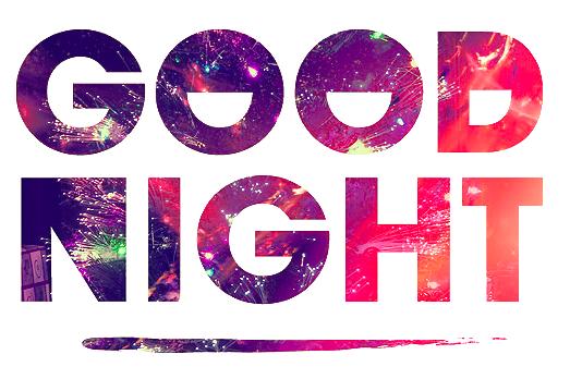 Good Night PNG