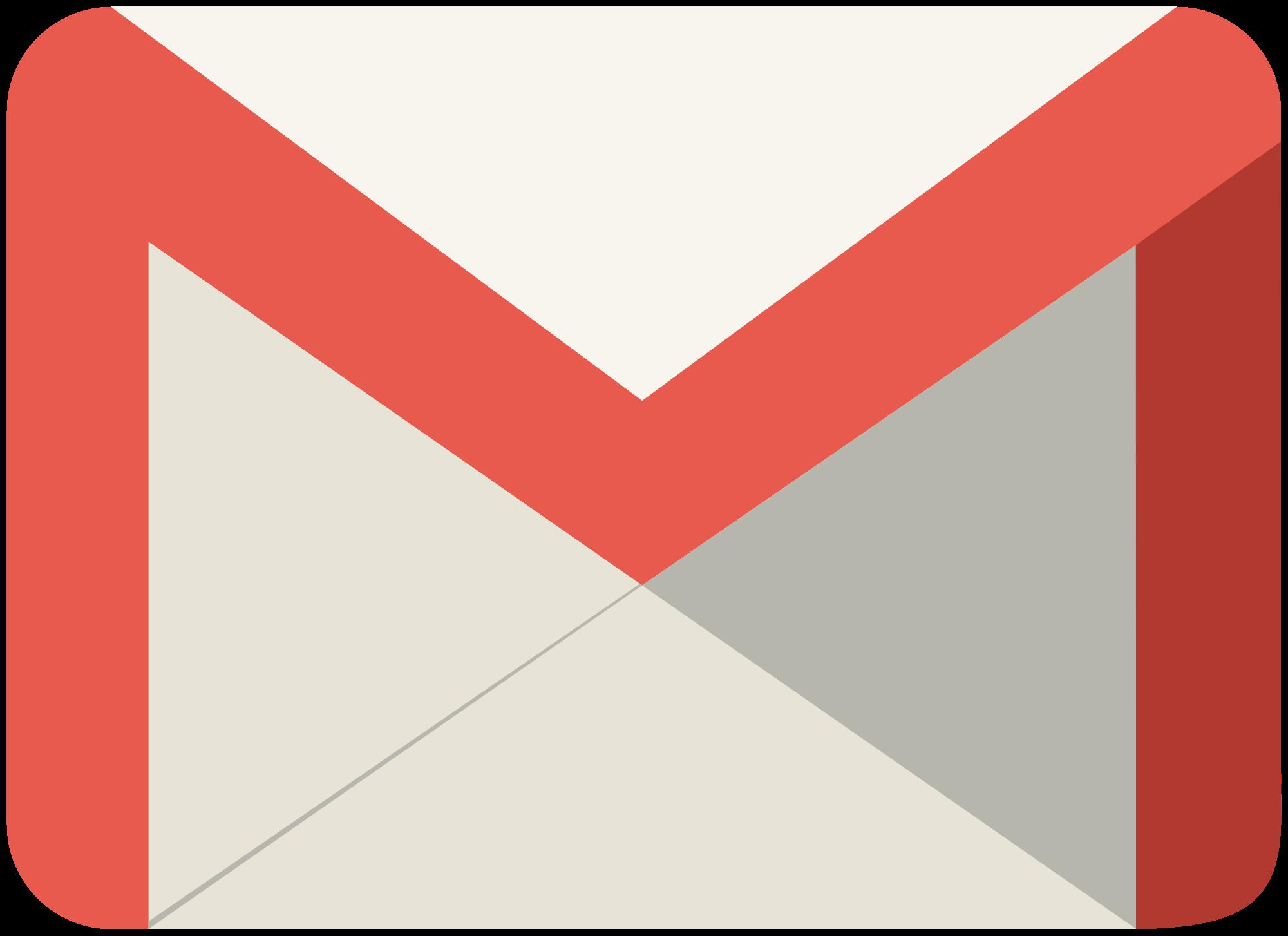 Google Mail Logo - Google Mail, Transparent background PNG HD thumbnail