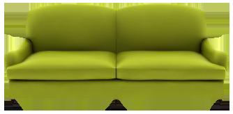 Green Sofa Png Transparent Image - Sofa, Transparent background PNG HD thumbnail