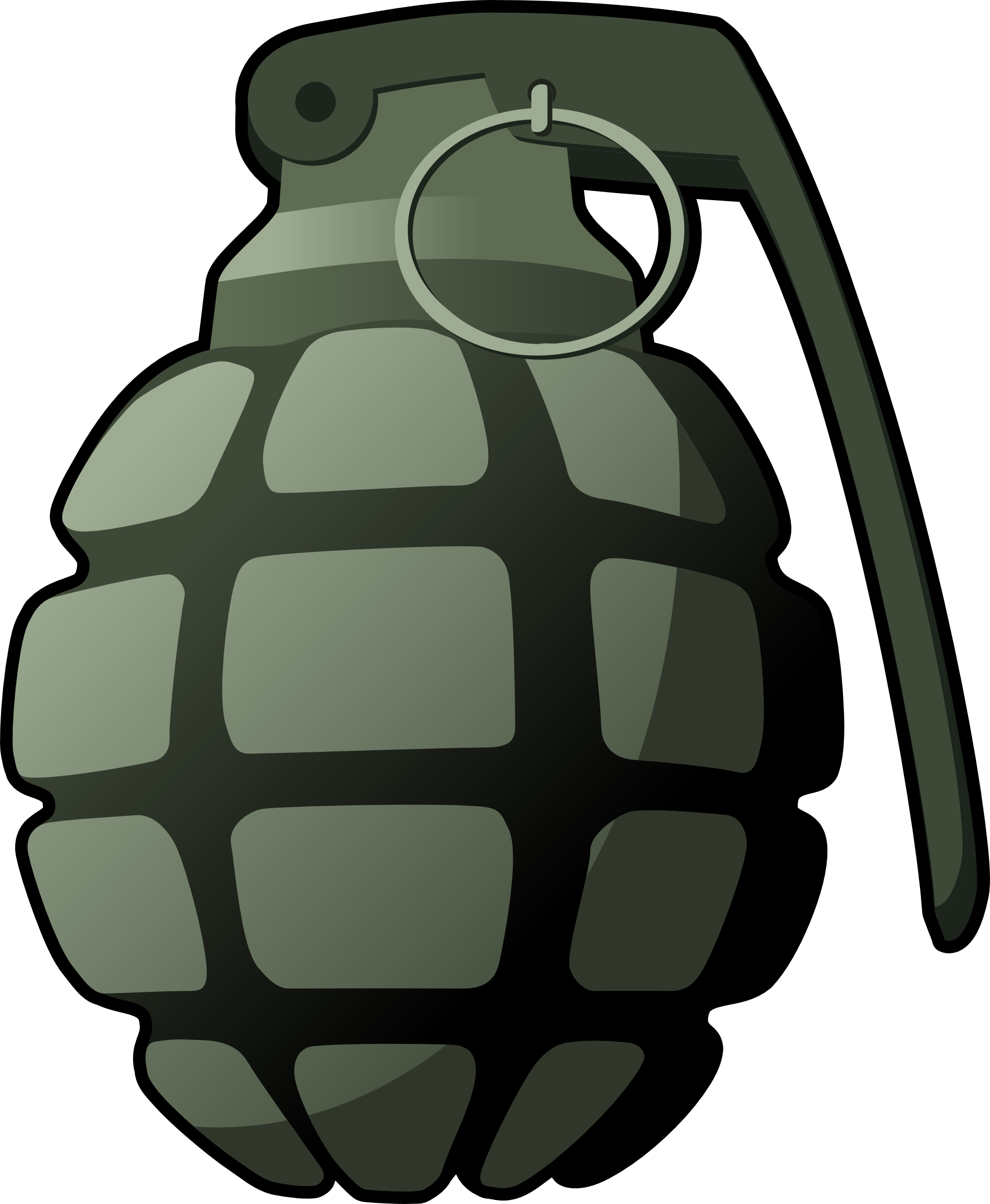 Grenade F1 Png Image - Grenade, Transparent background PNG HD thumbnail