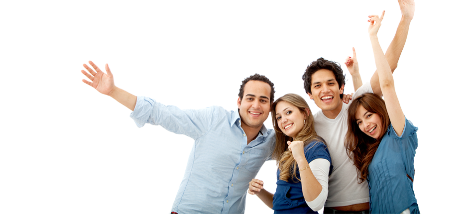 Group Of Friends PNG HD