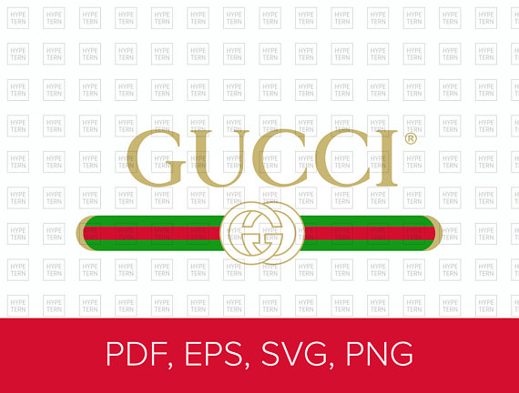 Gucci Washed Inspired Logo Vector Art (Pdf, Eps, Svg, Png) File Format - Gucci, Transparent background PNG HD thumbnail