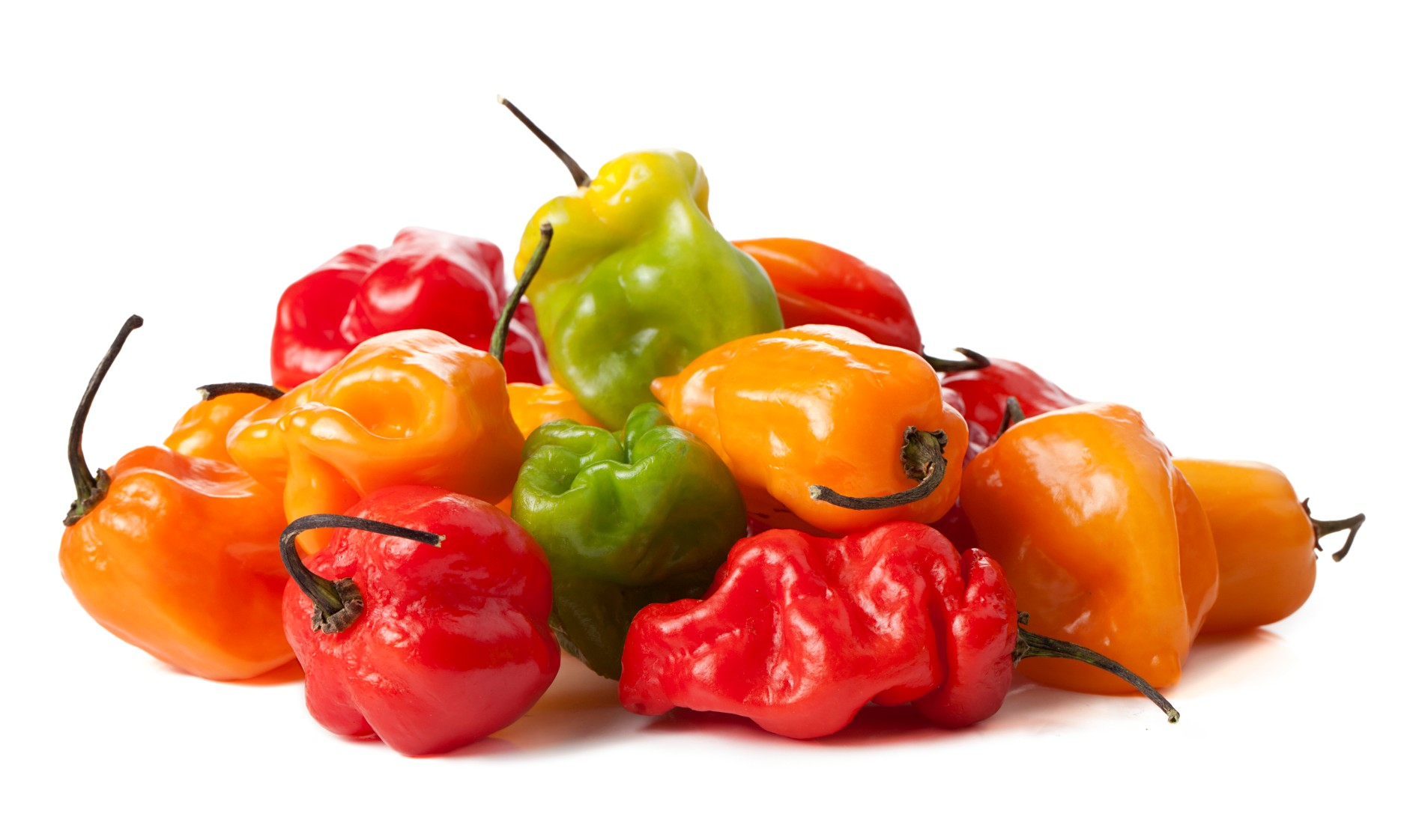 Habanero Peppers Mix 1 - Habanero, Transparent background PNG HD thumbnail