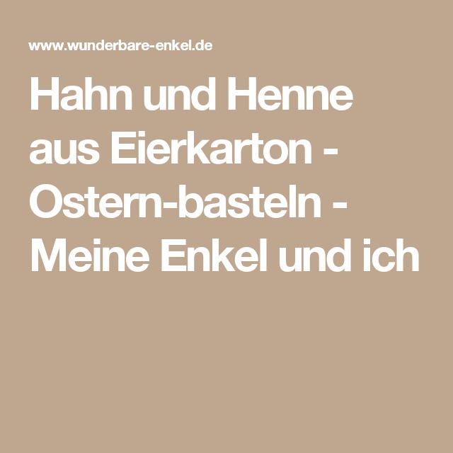 Hahn Und Henne Aus Eierkarton Hdpng.com  - Hahn Und Henne, Transparent background PNG HD thumbnail