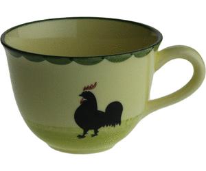 Zeller Keramik Hahn Und Henne Cappuccino Obertasse 0,22 Ltr. - Hahn Und Henne, Transparent background PNG HD thumbnail