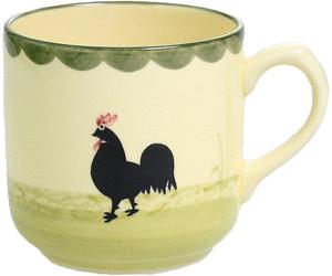Zeller Keramik Hahn Und Henne Kaffeebecher 0,35 Ltr. - Hahn Und Henne, Transparent background PNG HD thumbnail