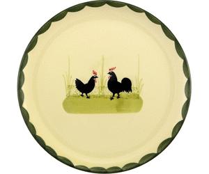 Zeller Keramik Hahn Und Henne Teller 21 Cm - Hahn Und Henne, Transparent background PNG HD thumbnail