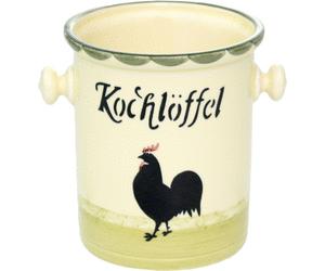 Zeller Keramik Kochlöffelbehälter Hahn Und Henne - Hahn Und Henne, Transparent background PNG HD thumbnail