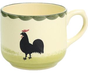 Zeller Keramik Obertasse Hahn Und Henne - Hahn Und Henne, Transparent background PNG HD thumbnail