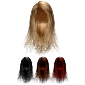 20 Png Hair Wigs Templates Download » Free Vector Graphics | Design Freebies - Hair Wig, Transparent background PNG HD thumbnail