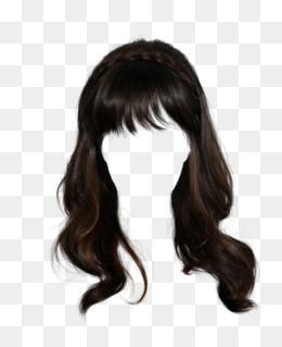 Pull Hair Wig Hair Clip Free, Wig, Long Hair, Material Png Image - Hair Wig, Transparent background PNG HD thumbnail