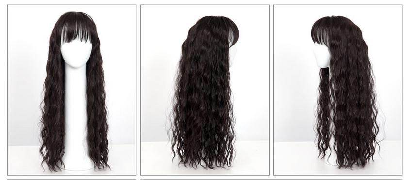 Twist Perm Long Hair Wig - Hair Wig, Transparent background PNG HD thumbnail