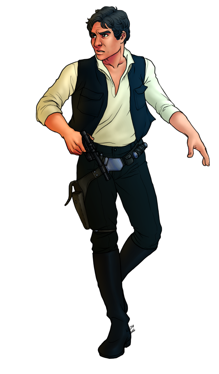 Han Solo By Kiesu Han Solo By Kiesu - Han Solo, Transparent background PNG HD thumbnail