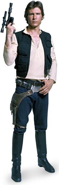 Han Solo Render.png - Han Solo, Transparent background PNG HD thumbnail