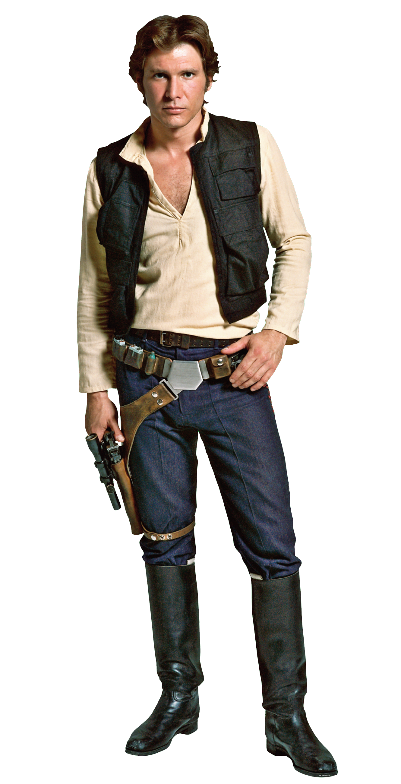 Hansolo Fathead.png - Han Solo, Transparent background PNG HD thumbnail
