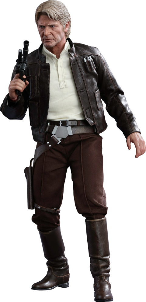 Hot Toys Han Solo Sixth Scale Figure - Han Solo, Transparent background PNG HD thumbnail