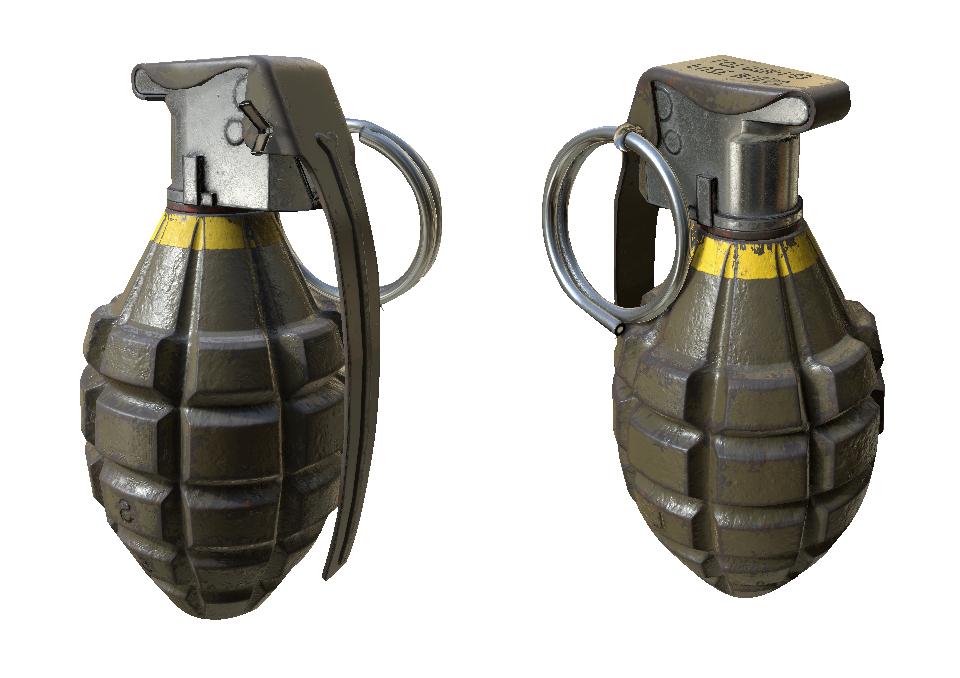 Hand Grenade Bomb Png Transparent Image - Grenade, Transparent background PNG HD thumbnail