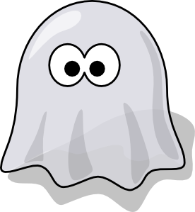Happy Ghost Png - Cartoon Ghost Clip Art, Transparent background PNG HD thumbnail