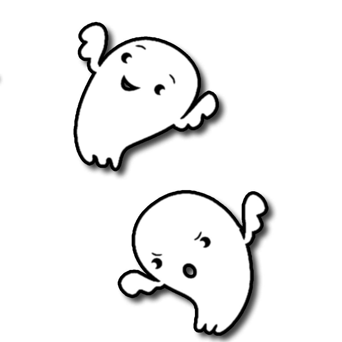 Happy Ghost Png - Happy, Transparent background PNG HD thumbnail