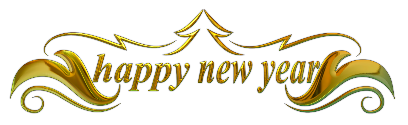 Happy New Year Png - File:happy New Year Text.png, Transparent background PNG HD thumbnail