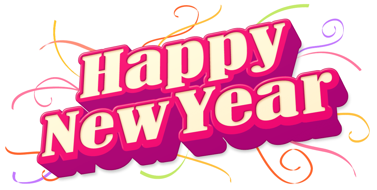 Happy New Year Png - Happy New Year Png Picture, Transparent background PNG HD thumbnail