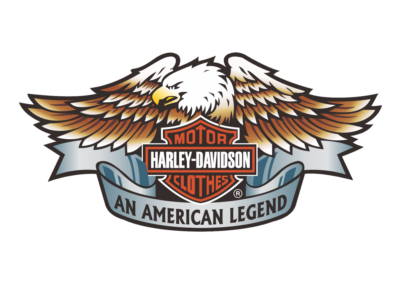 Harley Davidson Motor Clothes Logo Vector~ Format Cdr, Ai, Eps, Svg, - Harley Davidson Vector, Transparent background PNG HD thumbnail