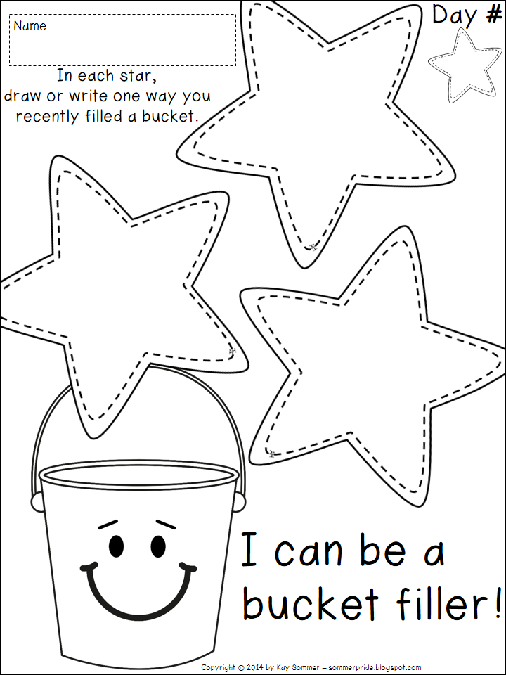 Camp Fire Heartland Has The Bucket Filler Book To Go Along With This. Read It With The Kids And Then Have Them Fill Out This Sheet To Discuss How They Can Hdpng.com  - Have You Filled A Bucket Today, Transparent background PNG HD thumbnail